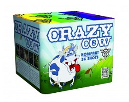 crazy cow ohnostroj